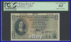 South Africa One Pound 6-2-1959 P93es Specimen Uncirculated