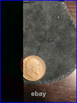 Sterlina Oro Edoardo 1903 one pound gold