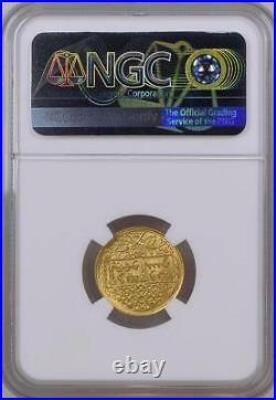 Syria, Gold 1/2 Pound 1950 Ngc Ms 67, Extremely Rare