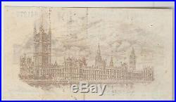T16 Bradbury 1917 One Pound G68 Banknote In Good Very Fine Or Better Condition