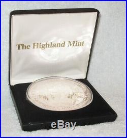 The Highland Mint 2000 Millennium One Half-Pound. 999 Fine Silver Coin