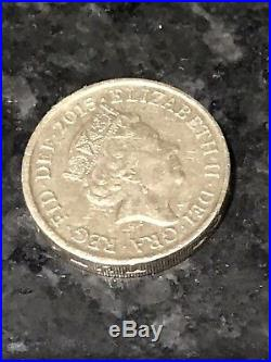 The Royal Arms Unicorn And Crowned Lion £1 One Pound Coin Rare