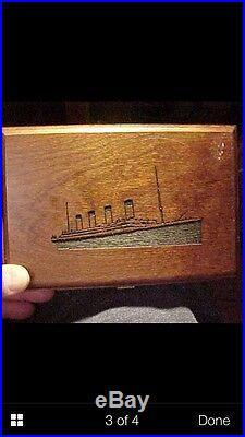 Titanic one pound =14.6oz 999silver medal coin