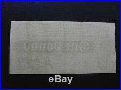 Treasury note Bradbury One Pound 1914 Pick347 serial# E20