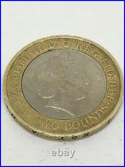 ULTRA RARE Minting Error 1807 Slave Trade 200 year anniversary Two Pound Coin