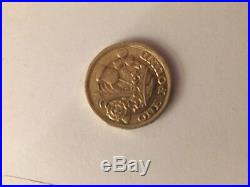 Ultra Rare New One Pound Coin