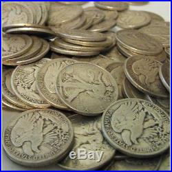 Vintage Bullion One Half Troy Pound 90% Silver US Coins Mixed Half Dollars