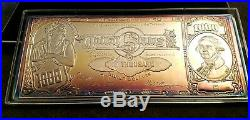 Washington Mint One Pound 999 Silver Certificate With Box 16 Troy Oz 1 Pound Toned
