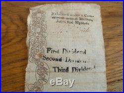 Welshpool Bank, 1813 One Pound £1 Note