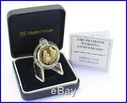 Westminster Mint 2007 Gibraltar Gold Sovereign £1 One Pound Cased COA